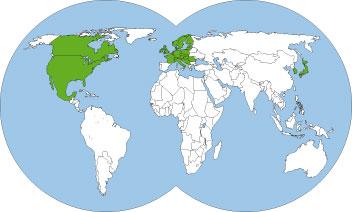 World-map-Myrmica-rubra-red-stinging-ant